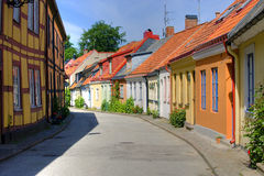 Summer in Ystad royalty free stock images