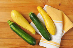 Summer and Zucchini Squash Royalty Free Stock Photos