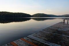 Summercamp im Ruhezustand Stockfoto