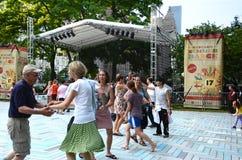 SummerDance Chicago 2013 bailarines Imagen de archivo libre de regalías