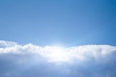 Summerday asoleado Foto de archivo libre de regalías