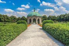 Summerday i Munich parkerar arkivbilder