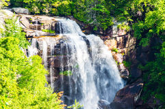 Summerday view of Whitewater falls Stock Photos