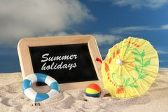 Summerholiday Royalty Free Stock Photos