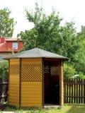 Summerhouse royaltyfri fotografi