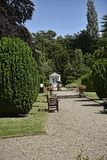 Summerhouse in beautiful garden in West Yorkshire England Stock Image