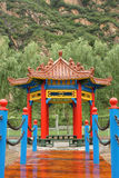 Summerhouse chinês no parque Fotos de Stock