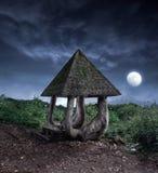 Summerhouse da fantasia Fotografia de Stock Royalty Free