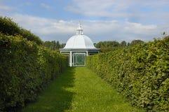 Summerhouse im Park Lizenzfreie Stockfotos