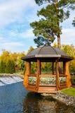 The summerhouse in Mezhyhirya Stock Images