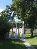 Summerhouse in monastery. Stock Photo