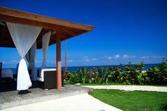 Summerhouse  near Atlantic ocea. N, Doninican republic Stock Photography