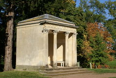 Summerhouse, pavilion, Croome Park, Worcestershire, England Stock Images