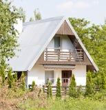Summerhouse in Poland Royalty Free Stock Photos