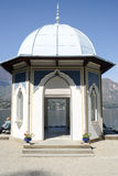 Summerhouse of Villa Melzi at Bellagio Stock Photo