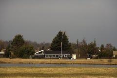 summerhouses Lizenzfreie Stockfotografie