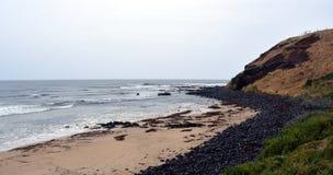 Summerland zatoka na Philip wyspie, Wiktoria Australia Obrazy Royalty Free