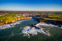 Summerleaze From above Stock Photography