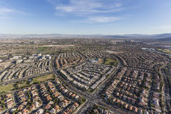 Summerlin Streets Aerial Las Vegas Nevada Stock Photo