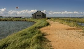 A summers Day at Newtown Creek, Isle of Wight royalty free stock images