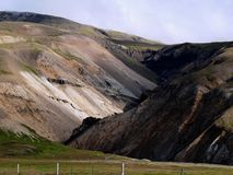 Summersday em Islândia Fotos de Stock Royalty Free