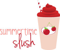 Summerstime Slush Royalty Free Stock Photo