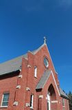 Summersville Church. Photo of a church building in Summersville, WV.  Set against a beautiful blue sky Royalty Free Stock Photography