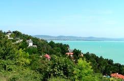 Summertime. Lake balaton - hungarian landscape royalty free stock images