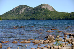 Summertime in Acadia National Park in New England Royalty Free Stock Photography