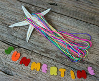 Summertime background, handmade, summer Royalty Free Stock Photography