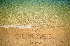 Summertime background Stock Image