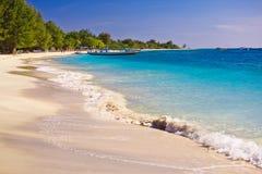 Summertime at the beach. Travangan gili Stock Image