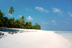 Summertime at the beach. Summertime at the beautiful tropical beach Royalty Free Stock Photos
