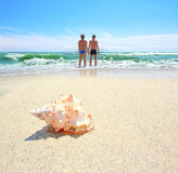 Summertime at beach Royalty Free Stock Photo