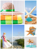 Summertime beach Royalty Free Stock Photo