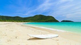 Summertime at the beach. Thailand Stock Photos