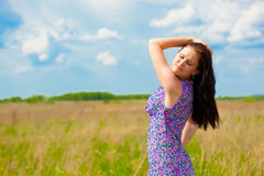 Summertime beauty Stock Photography