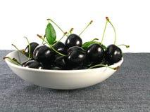 Summertime:  black cherry Stock Images