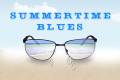 Summertime Blues Royalty Free Stock Photos