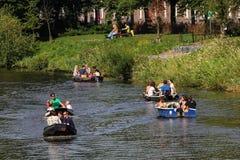 Summertime Boating Royalty Free Stock Image