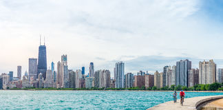 Summertime in Chicago Royalty Free Stock Images