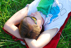 Summertime Chill Stock Images