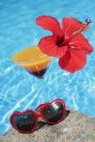 Summertime Cocktail Stock Photos