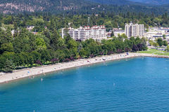 Summertime in Coeur d' Alene Royalty Free Stock Images
