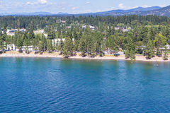 Summertime in Coeur d' Alene Royalty Free Stock Photos