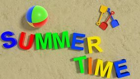 Summertime Royalty Free Stock Images