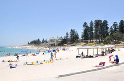 Summertime at Cottesloe Beach royalty free stock photos