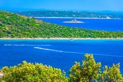 Summertime in Dalmatia, Drvenik Island. stock images