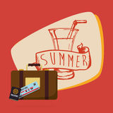 Summertime design Royalty Free Stock Photo