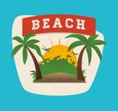 Summertime design Royalty Free Stock Photos
